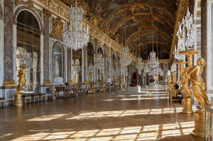 Hall of Mirrors, Palace of Versailles.